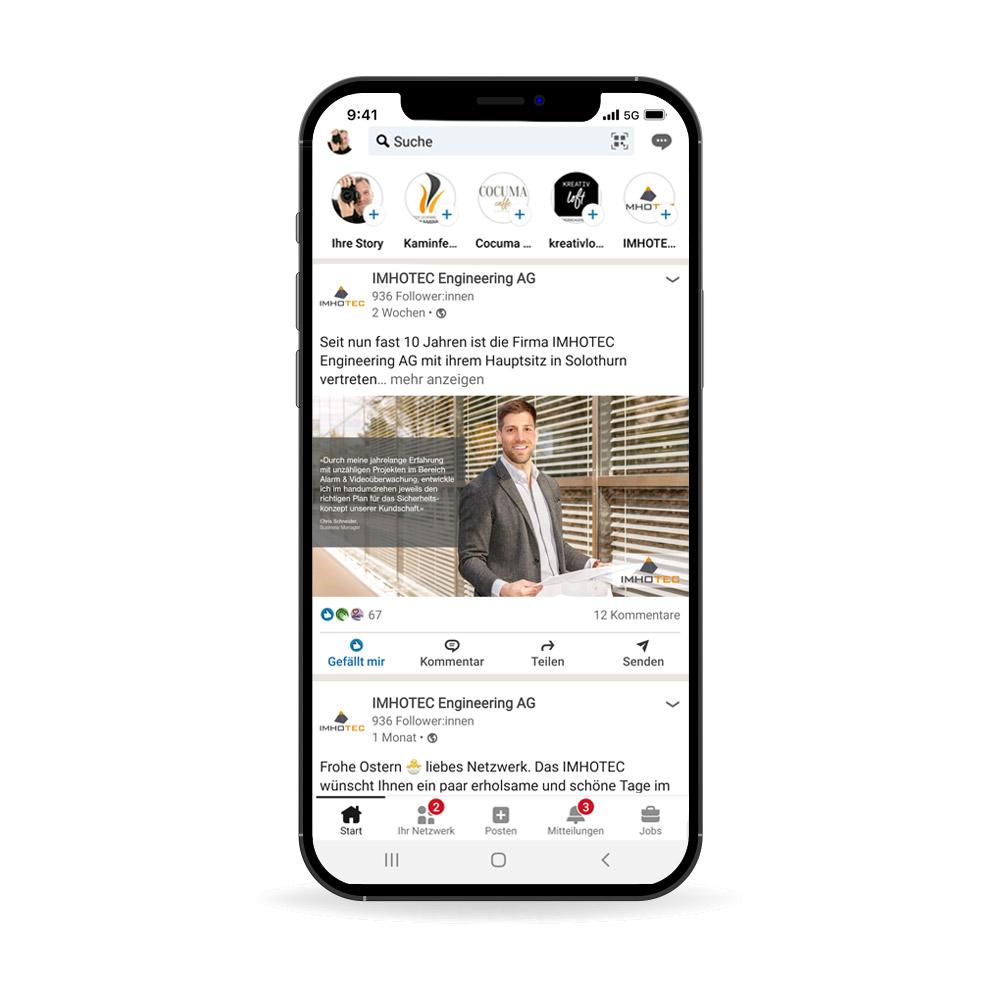 Social Media Personalpost