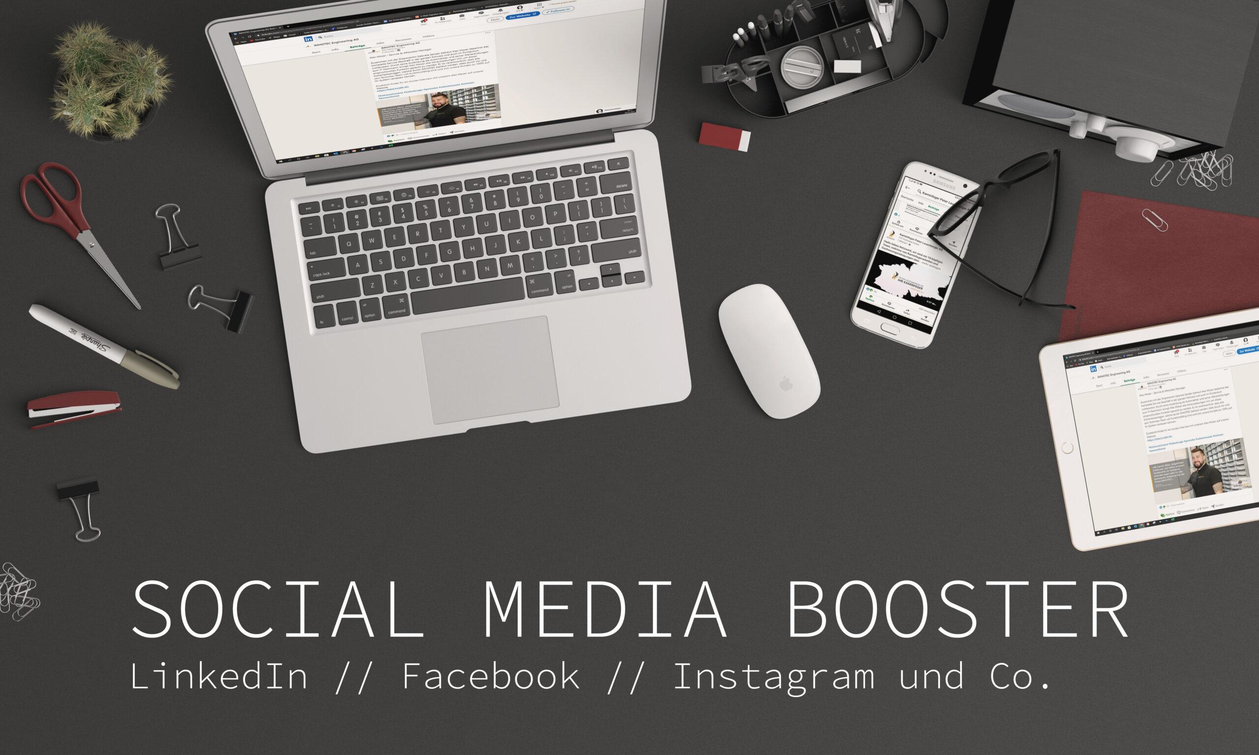 Social Media Booster