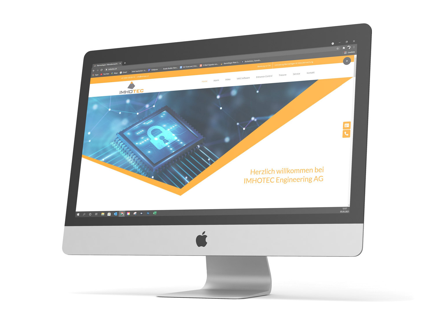 Website Manager Imhotec