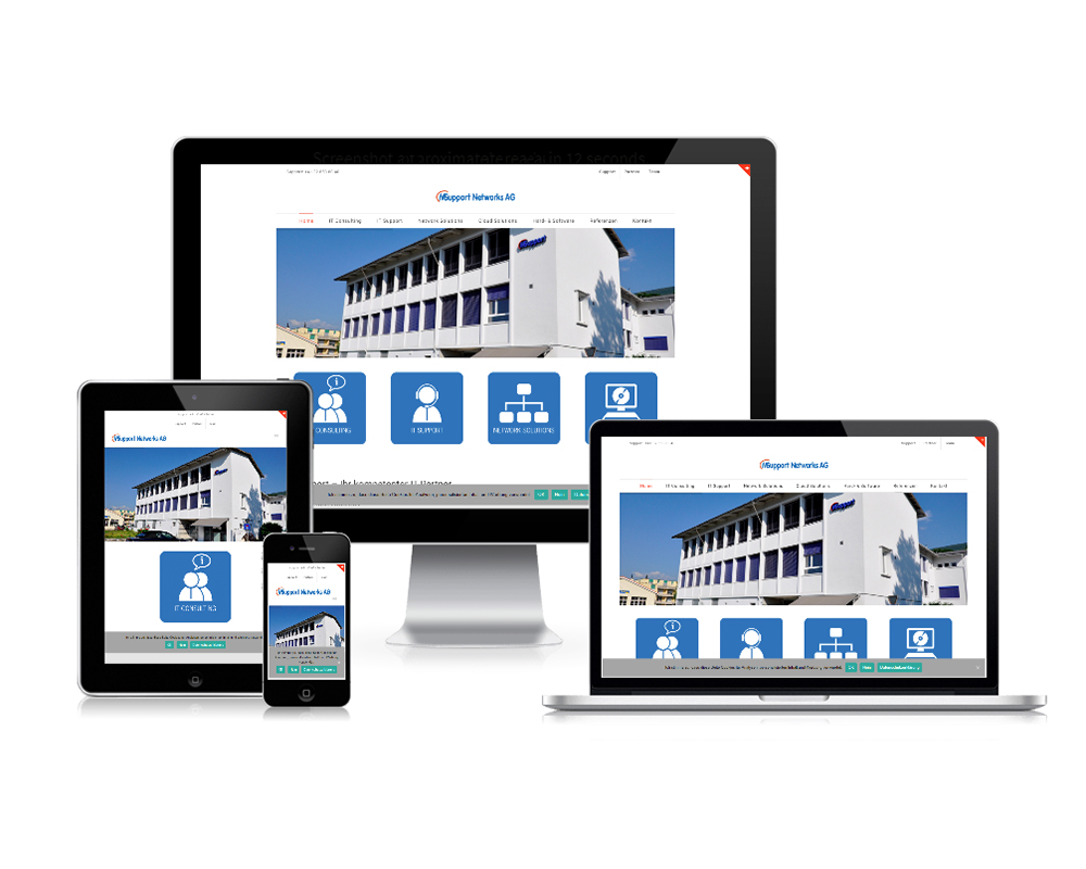 website msupport ag